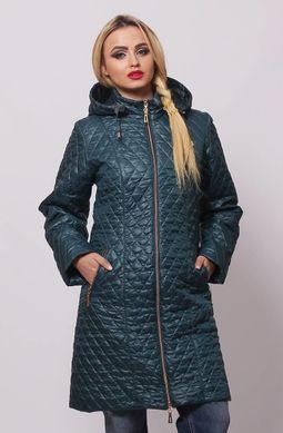 Бірюзова куртка Саманта - купити недорого — Donna Bella - MF-КС11-5-40 b635e16bf036e
