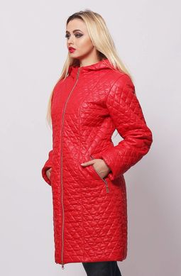 Червона жіноча куртка КС-13 - купити недорого — Donna Bella - MF ... ff4aed9b64292