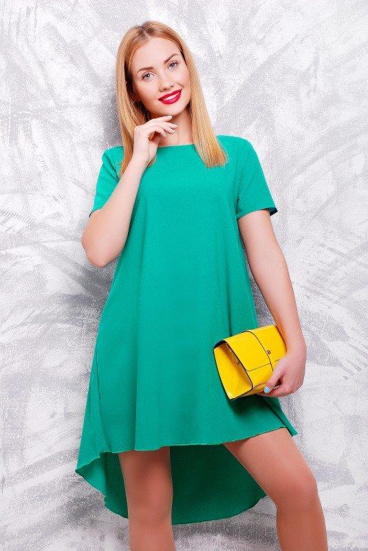 Смарагдове плаття Tail - купити недорого — Donna Bella - PL-1317B-42 9ef2fb928b989