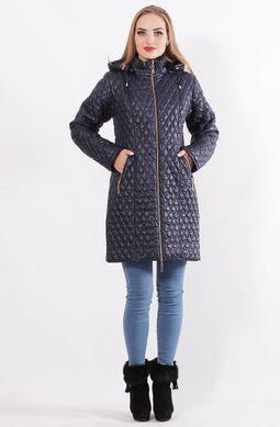 Темно-синя куртка Саманта - купити недорого — Donna Bella - MF-КС11-6-40 3c59af86c7a31