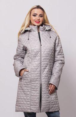 Куртка жіноча Саманта сталь - купити недорого — Donna Bella - MF ... 5a8fc330fcb89